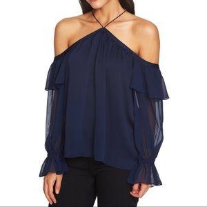 Beautiful blue blouse